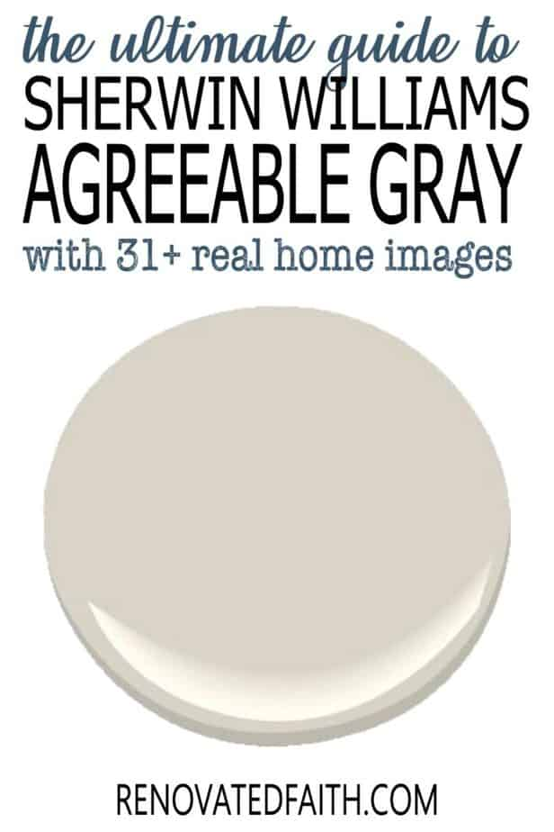 sherwin williams agreeable gray reviews