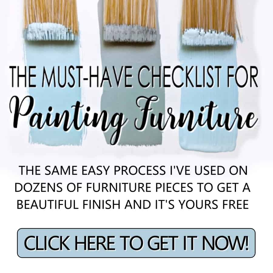 free furniture painting tips