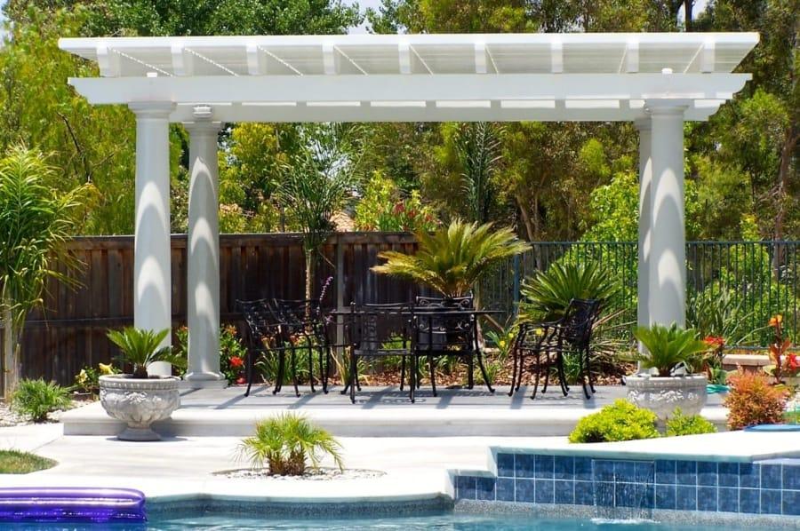 diy aluminum patio cover
