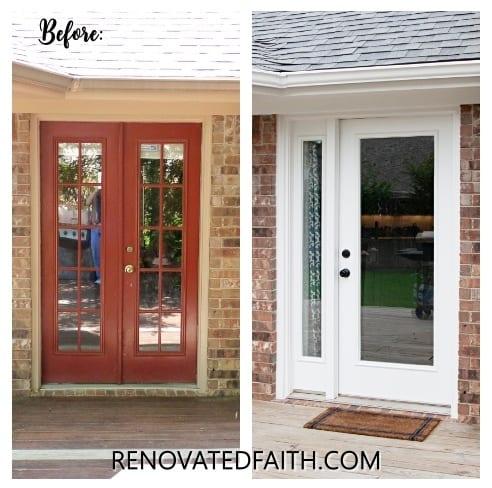 painting exterior trim soffits and fascias