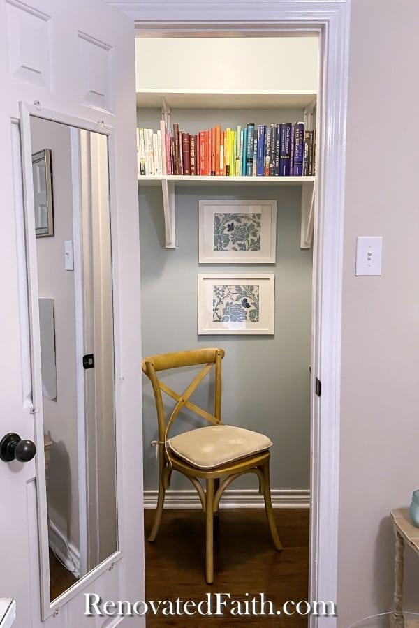 closet and office = cloffice tutorial