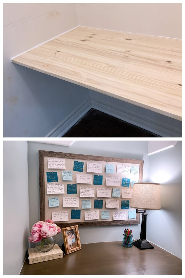 diy cloffice transformation before and after