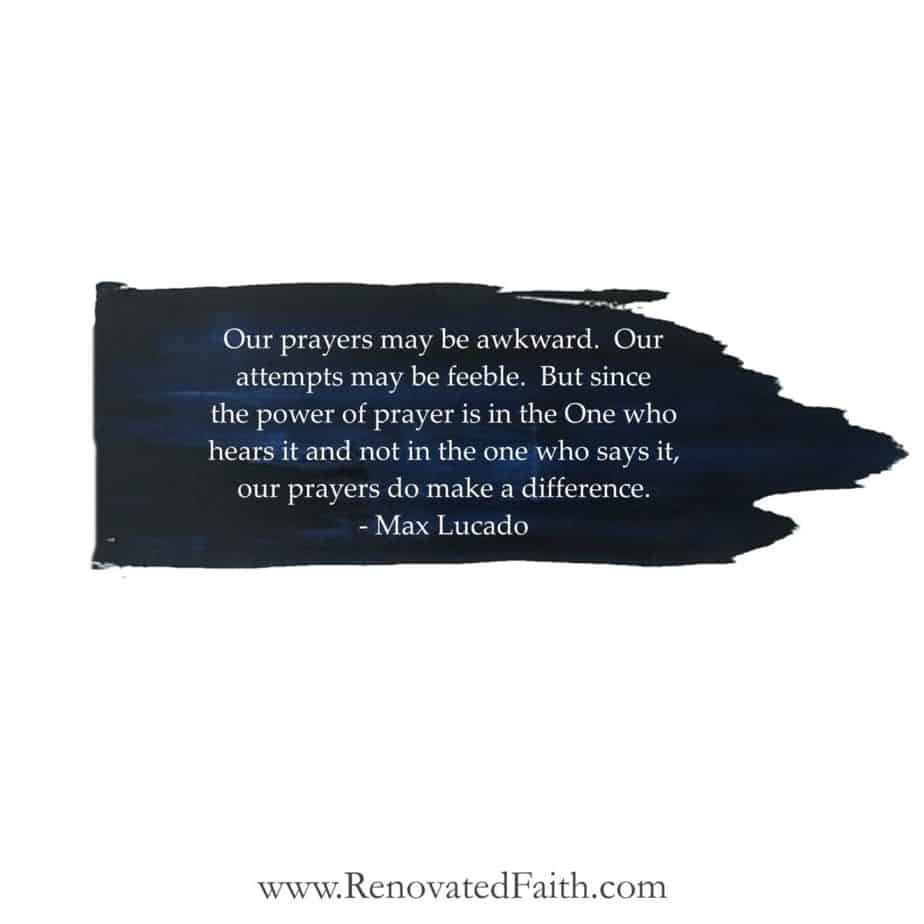 prayer quote by max lucado