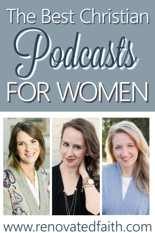christian women podcasts